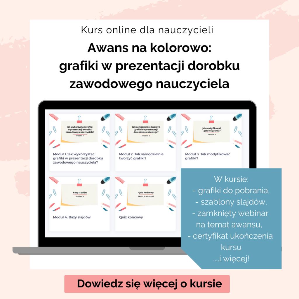 Awans na kolorowo - kurs online