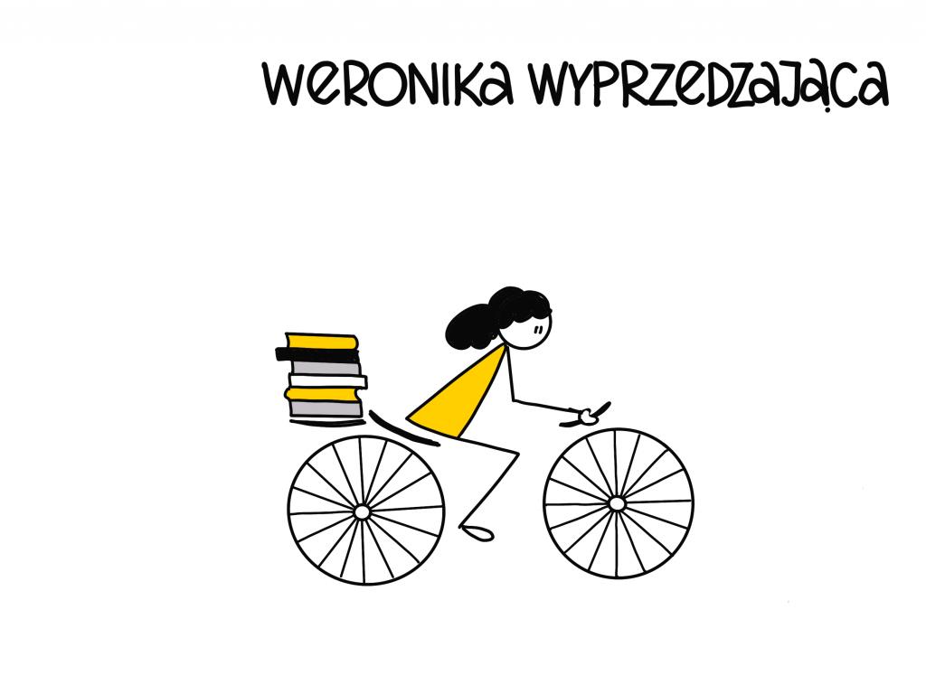 Style awansu zawodowego - Weronika wyprzedzająca