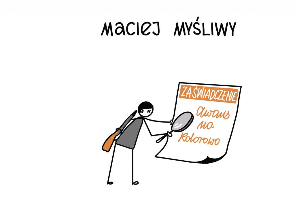 Style awansu zawodowego - Maciej Myśliwy